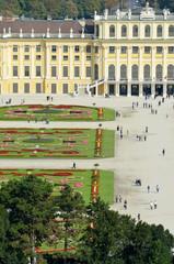 Promenade au Palais Schonbrunn à Vienne