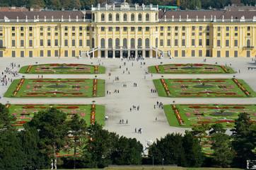 Au Palais Schonbrunn à Vienne