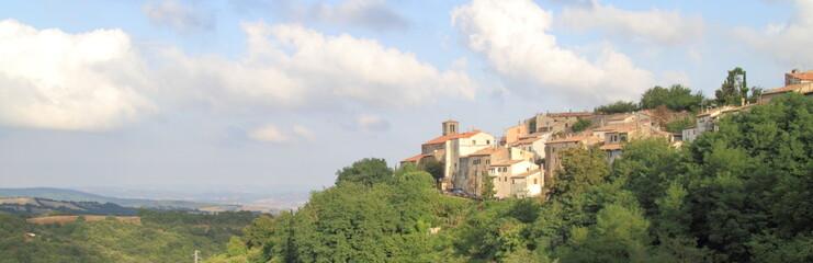 Vista di Scansano,Toscana