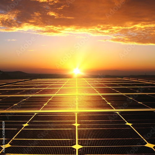 Energie solaire.