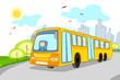 Driver in School Bus