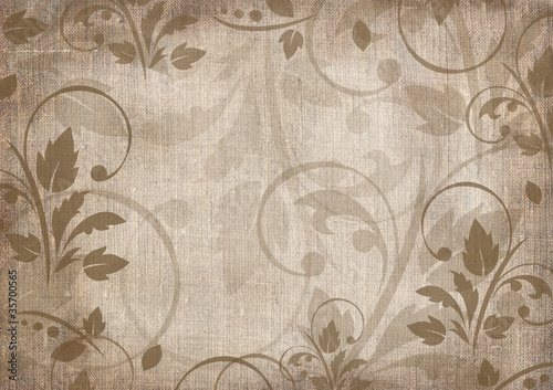 Romantic scrapbook background © belinka