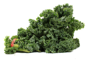 Fresh leafy kale