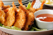Coconut shrimp prawns