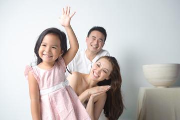 Child Raises Hand