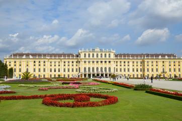 Dans les jardins de Schonbrunn dans Vienne
