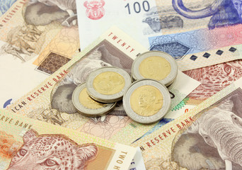 South African Notes and Coins