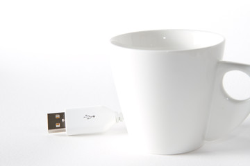 tazzina caffè usb