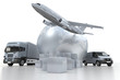 Air and road transportation silver