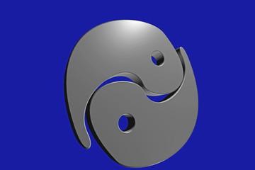 Yin-Yang-metall