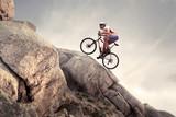 Fototapety Uphill ride