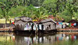 Houseboat - Kerala, India
