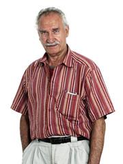 one Senior man