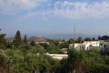 Zia village on Kos Island, Dodecanese, Greece