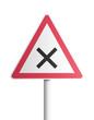 Panneau - intersection où la priorité à droite est applicable
