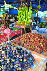 Obst und Gemüsestand