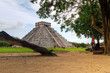 Kukulkan pyramid of Chichen Itza in Mexico, one of 7 New Wonders