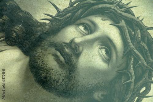 Zdjęcia na płótnie, fototapety na wymiar, obrazy na ścianę : Jezus ikona spojrzenie