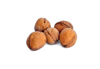 few walnuts