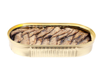 Canned fish.