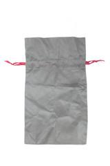 Fabric bag isolate on white background