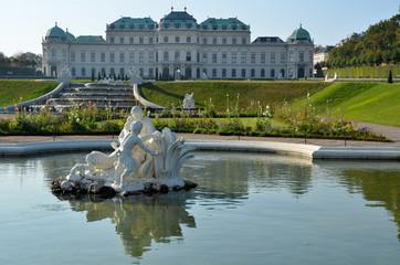 Promenade au Palais du Belvédère à Vienne