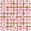 tweed flower background