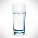 glass of mineral water