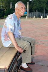 孤獨的老人