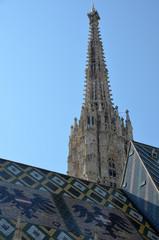 Clocher de la cathédrale Saint Etienne de Vienne