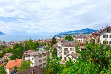 Montreux Town, Switzerland