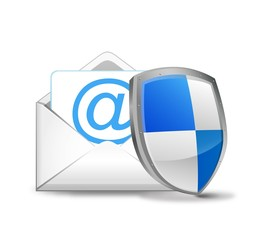 ベクター、Eメールを守るセキュリティーの盾