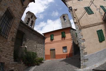 Roccalbegna, Toscana, Italia