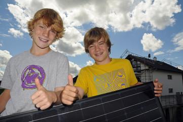 Solarenergie für den Neubau