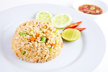 Vegetable Fried Rice1