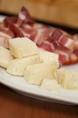 pancetta e formaggio caprino