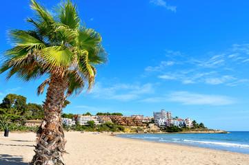 Beach in Altafulla, Spain