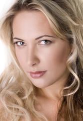 beautiful blond female