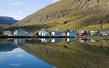 Fototapety Seydisfjördur in Island