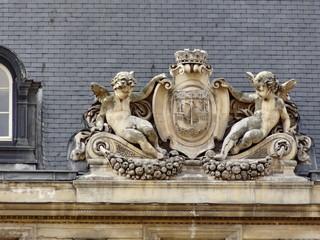 Écusson de la Ville de Paris.