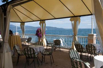 Gardone Riviera on Lake Garda Northern Italy
