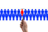 woman recruitment poster