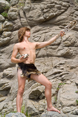 Young man in loin-cloth 2