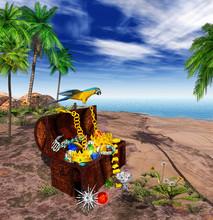 3D - EGN - Treasure - Pirate