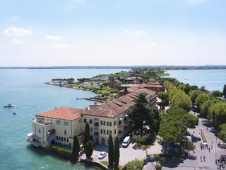 Sirmione on Lake Garda in Northern Italy