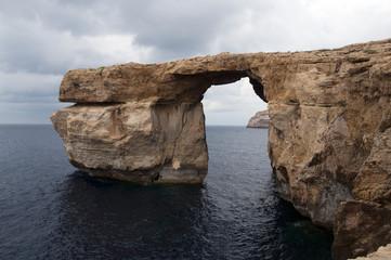 azure rock on Gozo