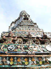 Angel Statue of the Wat Arun(Temple of the Dawn)