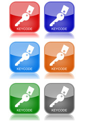 "Keycode  ""6 buttons of different colors"""