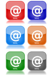 "e-mail  ""6 buttons of different colors"""