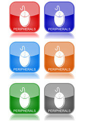 """Mouse  """"6 buttons of different colors"""""""